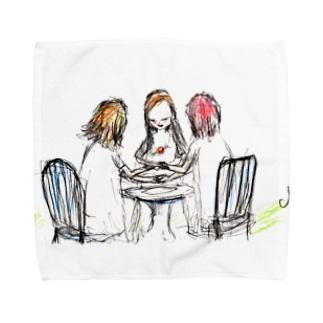 ムラナギ/ヌガーポップ Towel Handkerchief