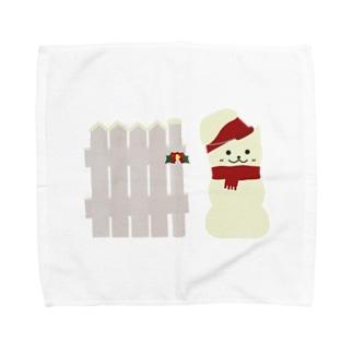 スノーマン Towel handkerchiefs