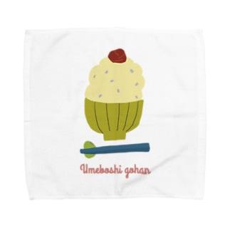 umeboshi gohan Towel handkerchiefs