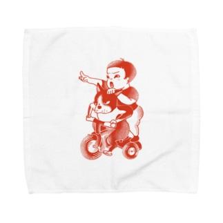 イッヌとキッズ Towel handkerchiefs