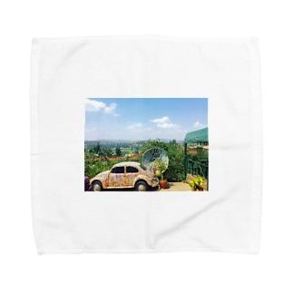 ルワンダの青 Towel handkerchiefs