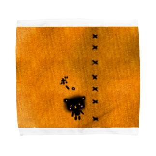 影くま Towel handkerchiefs