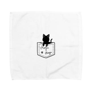 ぬこタオルハンカチ Towel handkerchiefs