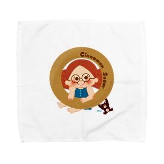Cinnamon Sugar Towel handkerchiefs