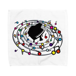 Loop_the_Loop Towel handkerchiefs