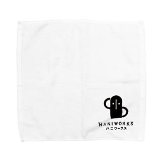 ハニワさん Towel handkerchiefs