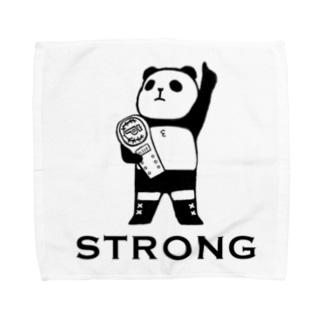 パンダプロレス チャンピオン Towel handkerchiefs