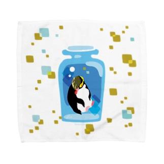 ペンギンの瓶詰めY Towel handkerchiefs