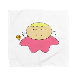 そらりん Towel handkerchiefs