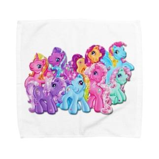 マイリトルポニー Towel handkerchiefs