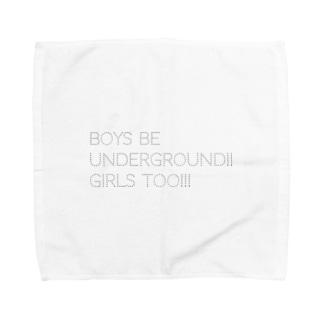 BOYS BE UNDERGROUNG!! GIRLS TOO!!! Towel handkerchiefs