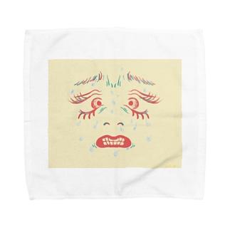 んぎぎ・・・ Towel handkerchiefs