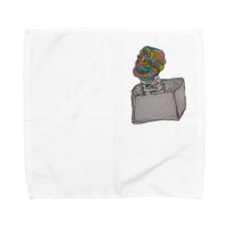 びっくり人間箱。 Towel handkerchiefs