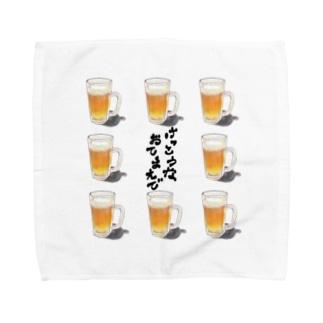 Beer(けっこうなおてまえで) Towel handkerchiefs