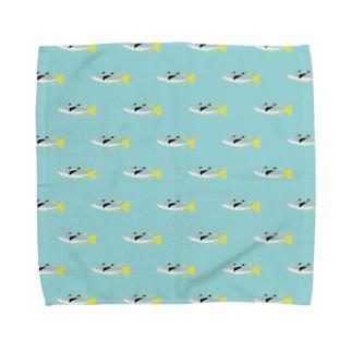 オニボラのハンカチ Towel handkerchiefs