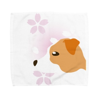 ジャック・ラッセル・テリア Towel Handkerchief