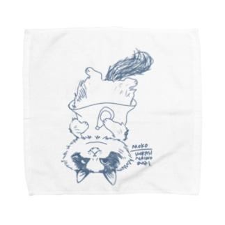 おにぎり祭りモコちゃん Towel handkerchiefs