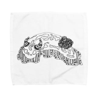 うみうしさん Towel handkerchiefs