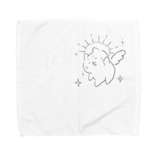 ねこみたいな天使 Towel handkerchiefs