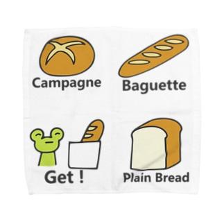 かえるくんパンを買う Towel handkerchiefs