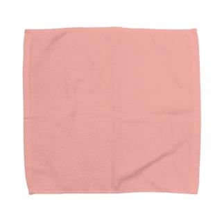 日本の伝統色 0006 珊瑚色 さんごいろ Towel handkerchiefs