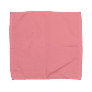 日本の伝統色 0012 桃色 ももいろ Towel handkerchiefs