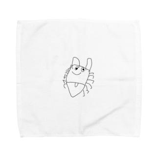 闇カワ🕷🕸💉のぴーとる君 Towel handkerchiefs