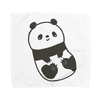 ころころパンダ Towel handkerchiefs