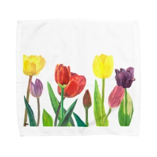 Tulips Towel handkerchiefs