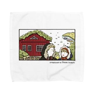 Faroe island Towel handkerchiefs