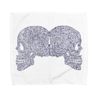 De Vermis Mysteriis Towel handkerchiefs