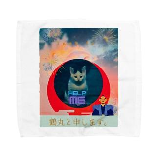 momo_emi 鶴丸(ちゅるまる)でございます。 Towel handkerchiefs