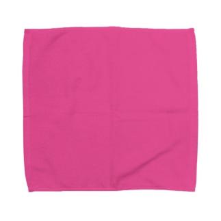 日本の伝統色 0033 躑躅色 つつじいろ Towel handkerchiefs