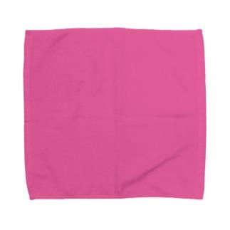 日本の伝統色 0034 牡丹色 ぼたんいろ Towel handkerchiefs