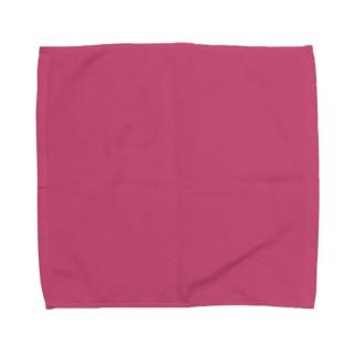 日本の伝統色 0036 中紅 なかべに Towel handkerchiefs
