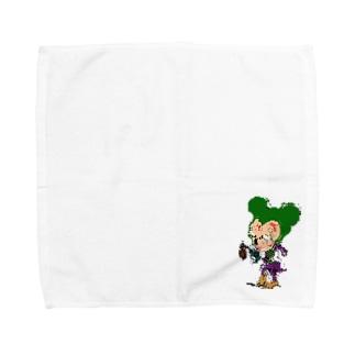 ヒャッハー!!(ジョーカー) Towel handkerchiefs