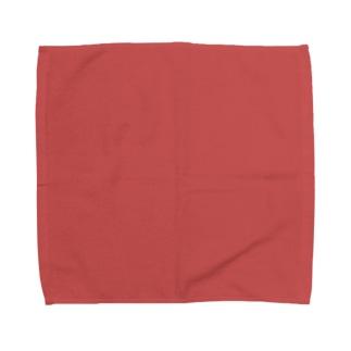日本の伝統色 0039 銀朱 ぎんしゅ Towel handkerchiefs