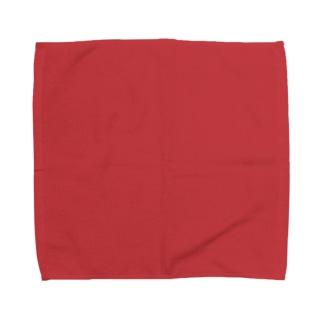 日本の伝統色 0040 赤紅 あかべに Towel handkerchiefs