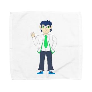 喜兎トウマ Towel handkerchiefs