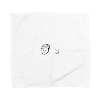 いちくんと ちゃっぴー Towel handkerchiefs