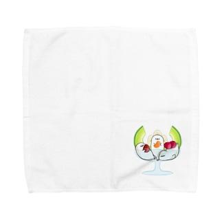 あざらしパフェ Towel handkerchiefs