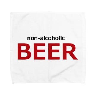 ノンアルコールビール ビール Towel handkerchiefs