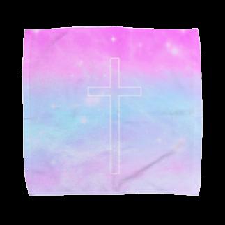 Memento...のゆめかわ宇宙 Towel handkerchiefs