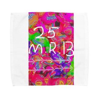 25.M.R.B Towel handkerchiefs