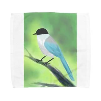オナガ Towel handkerchiefs
