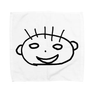 かおちゃんタオルハンカチ Towel handkerchiefs