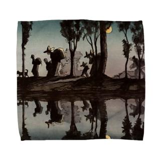 月光 Towel handkerchiefs