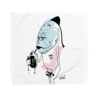 melon soda Towel handkerchiefs