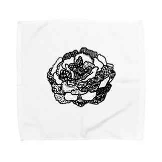 バラ Towel handkerchiefs