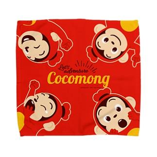 ココモンタオルハンカチL_A Towel handkerchiefs